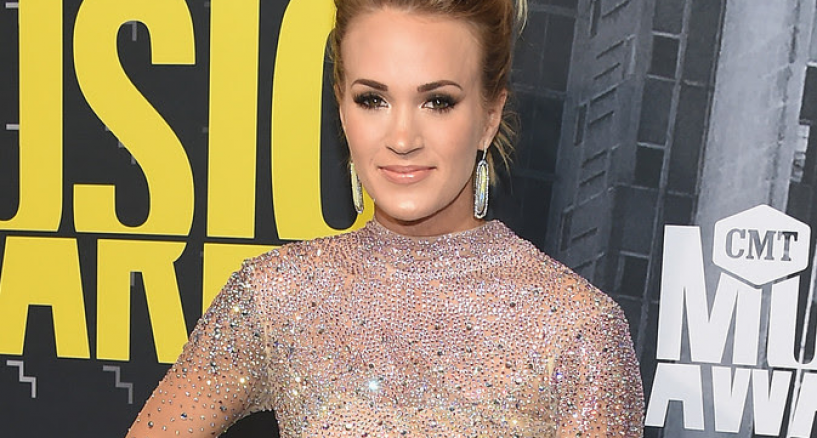 Carrie Underwood, CMT Music Awards Red Carpet Diamond Look