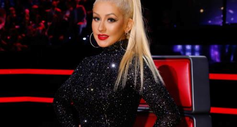 Christina Aguilera's Glamorous & Sleek High Crown Pony Glam!