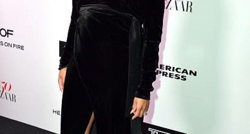 Ciara Star Style At Harper's Bazaar Celebration