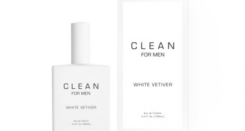 CLEAN for Men White Vetiver &  Black Leather Eau de Toilette News