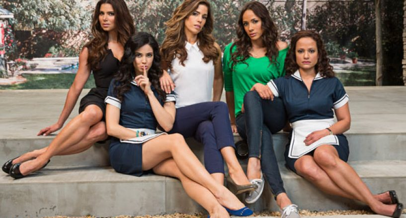 Eva Longoria, Executive Producer, Hair Secrets from Lifetime's Devious Maids