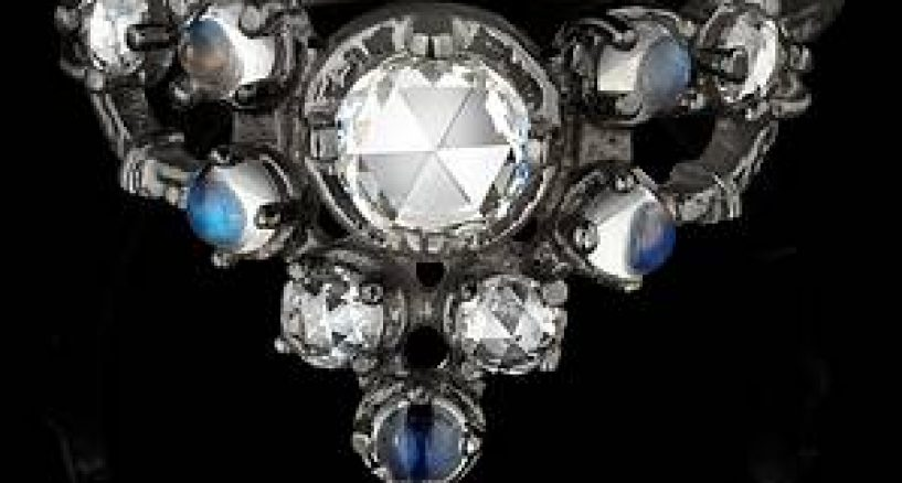 "Diamond News: NYC based Fine Jewelry Designer Karen Karch presents the ""Floating Star Tiara"" ring."