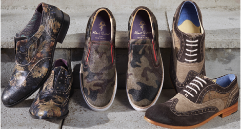 Robert Graham's first ever men's footwear collection is now available online