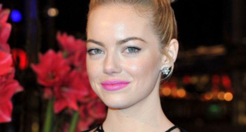 Emma Stone's beautiful hair looks at The Croods Premiere at the Berlinale International Film Festival
