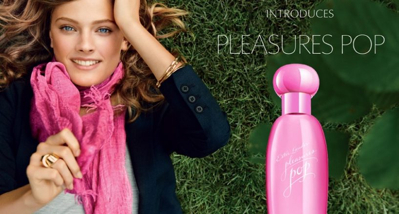 Estee Lauder has launched Pleasures Pop
