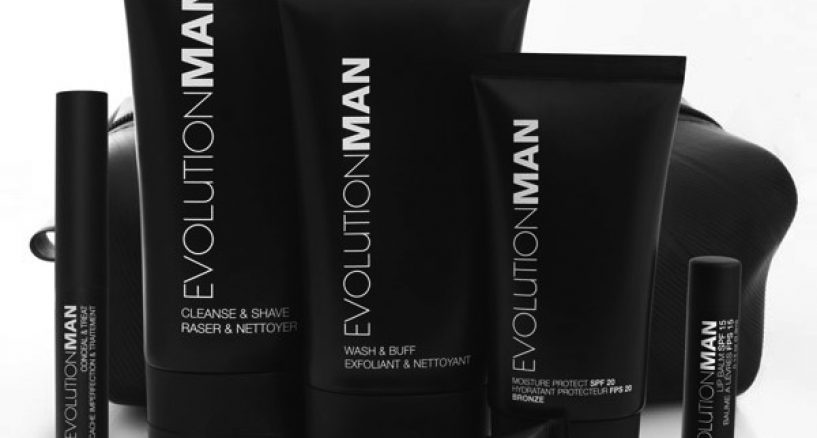 Mens Holiday Grooming Alert: Evolution MAN Skincare Just For Men