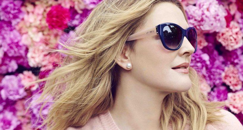 Drew Barrymore's New Sunglass FLOWER eyewear news