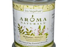 Aroma Naturals, Soy VegePure Candle News