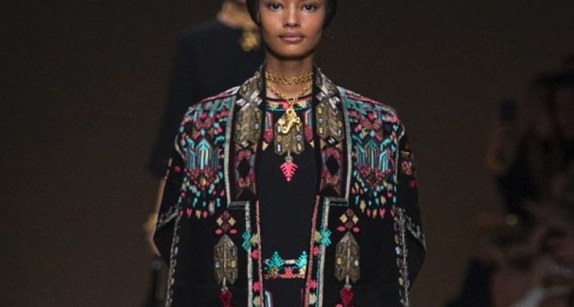 Valentino Spring 2014 Collection Is Romantic And Colorful