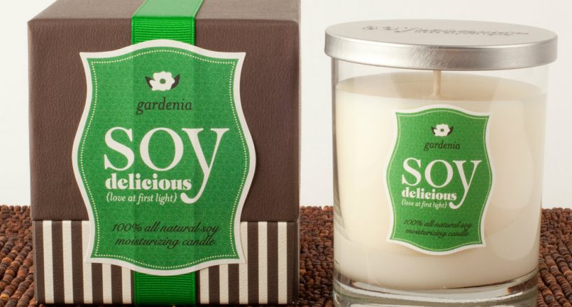 SOY Delicious Orange Blossom & Gardenia Candle Sensation