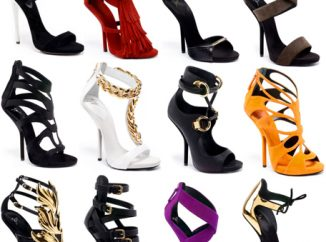 Editor's Fab Five Picks on Giuseppe Zanotti Spring 2013 Shoes