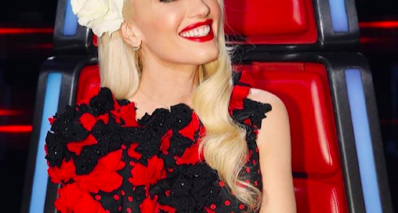 Gwen Stefani Rocks Hearts on Fire diamond earrings