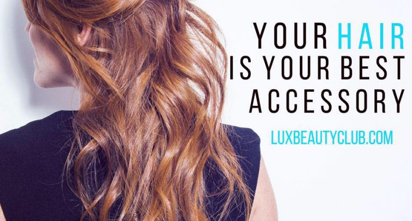 Lux Beauty Club Introduces Press On Hair Extensions