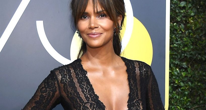 Halle Berry 75th Annual Golden Globe Awards Swarovski Jewel Moment