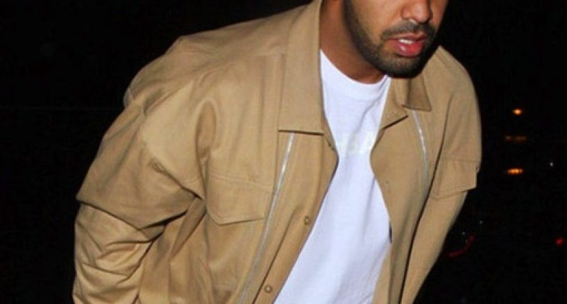 DRAKE Wears Custom HOOD BY AIR to Chateau Marmont