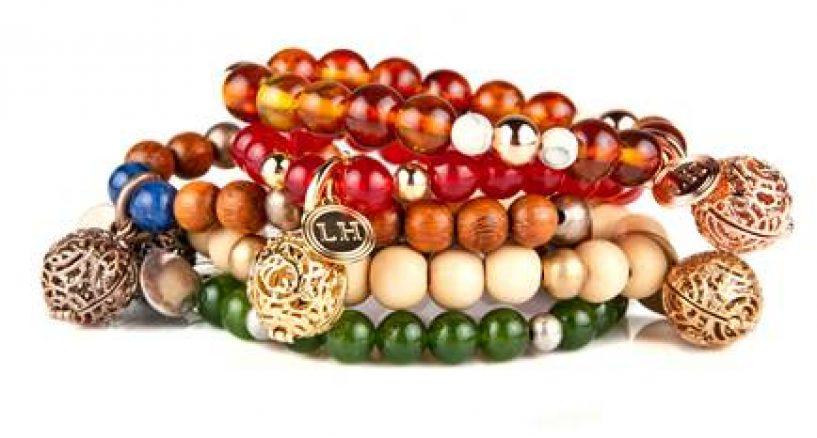 Fragrance Bracelets, Necklaces, Earrings Design By Lisa Hoffman Beauty