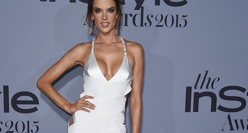 Alessandra Ambrosio Star Jewels At The Instyle Awards