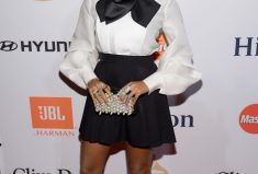Janelle Monae Red Carpet GRAMMY Style In Beverly Hills