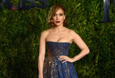 Jennifer Lopez in Harry Kotlar at The Tony Awards