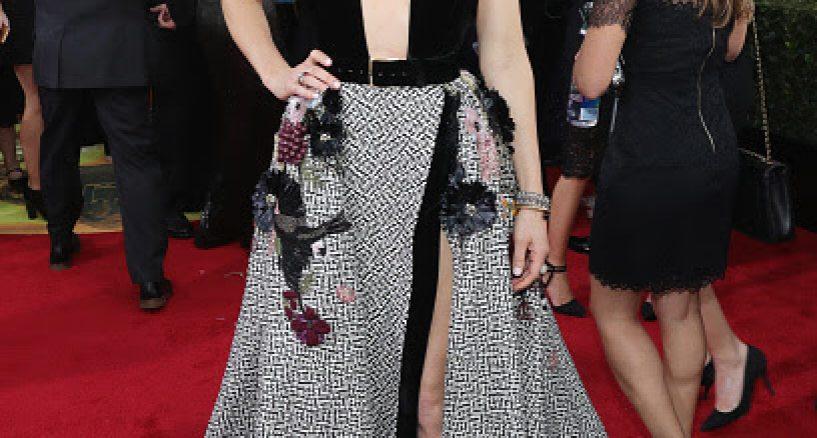 Jessica Biel Wears ELIE SAAB HAUTE COUTURE