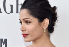 Freida Pinto, Harry Kotlar Canary Diamonds Earring