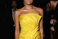 Kat Graham, Her Golden Globe Diamond Jewels