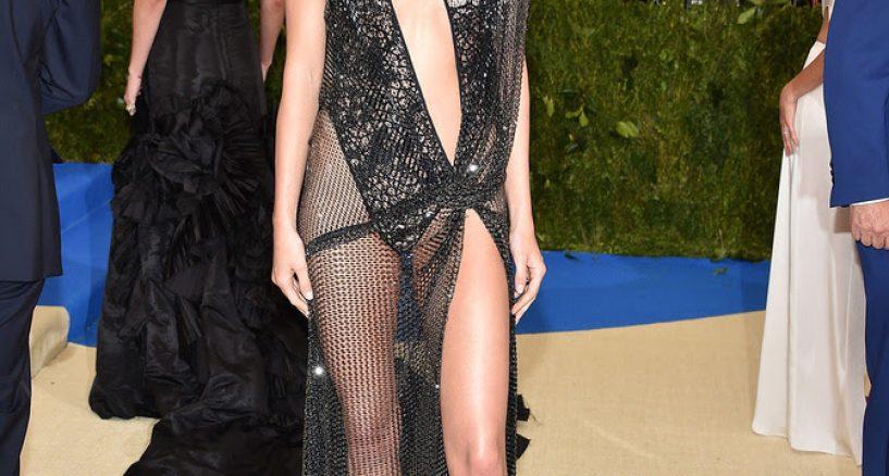 Kendall Jenner wears La Perla Haute Couture To Meta Gala 2017
