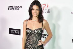 Kendall Jenner's Harper's BAZAAR celebration Red Carpet Moment