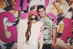 Lady Gaga Wears Fabulous White Jumpsuit By Gemy Maalouf