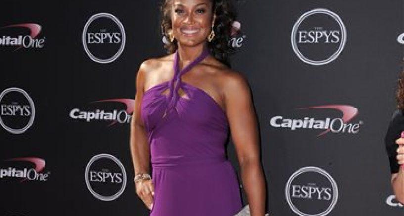 ESPY AWARDS, LAILA ALI STUNS IN L'DEZEN JEWELLERY AT 2013 ESPY AWARDS