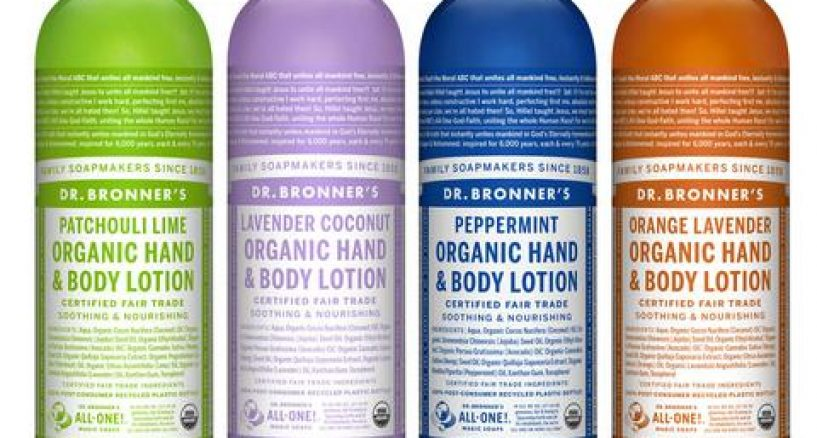 Dr. Bronner's Organic Lotions, Great Gift For The Holiday