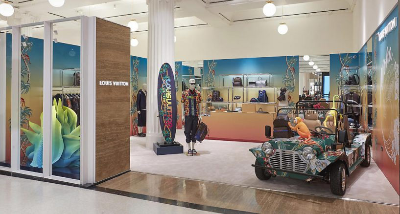 Louis Vuitton Men's Pop-Up in NYC News