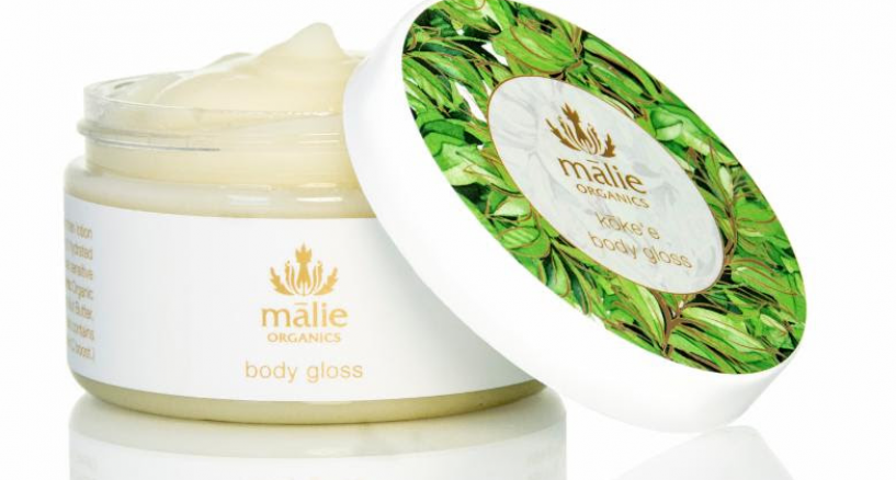 Hawaii's leading organic beauty brand introduces luxurious Botanical Body Gloss