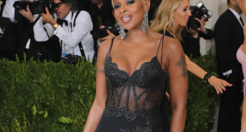 Mary J. Blige, LA PERLA HAUTE COUTURE, MET GALA