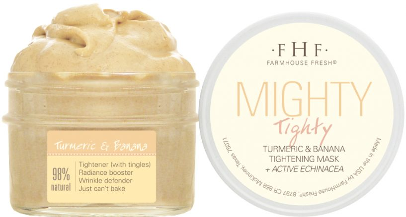 Mighty Tighty Turmeric & Banana Tightening Mask Perfect Mother's Day Gift