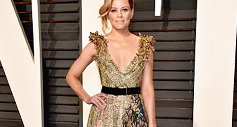 Oscar Style, Elizabeth Banks, Vanity Fair Oscar Party