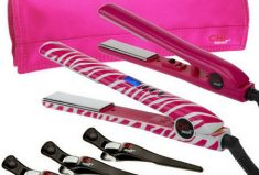 QVC CHI Smart Volumizing Styling Iron & Travel Iron Must Have