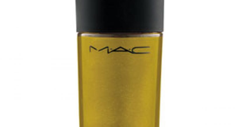 MAC Gold Lacquer Spotlight