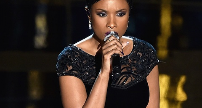 Jennifer Hudson, Her Diamonds At The 87th Annual Academy Awards
