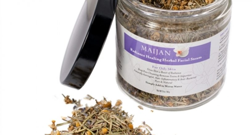 Skin Spotlight On Maijan Radiance Healing Herbal Facial Steam for Oily Skin