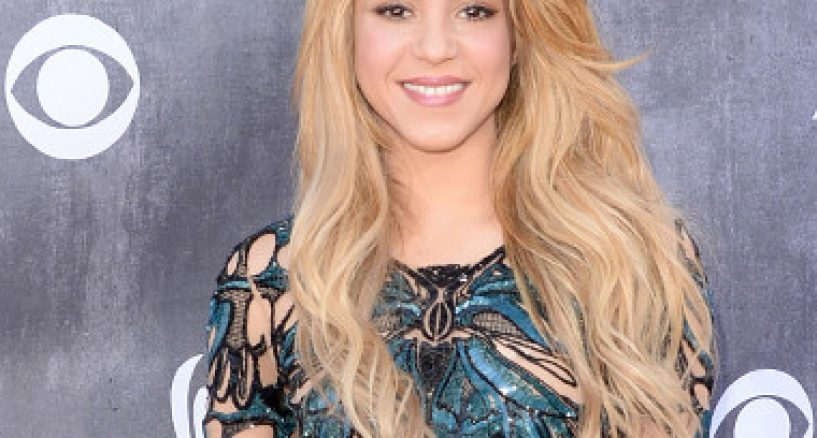 Shakira Style Star Spotlight at the ACM 2014 Awards