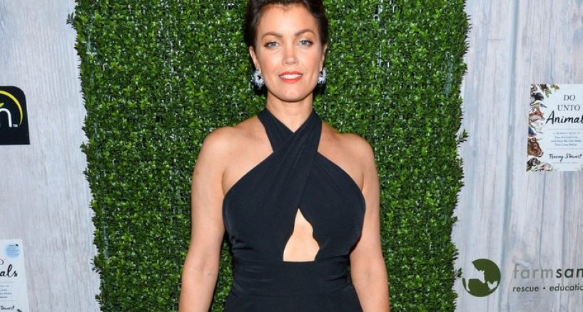Bellamy Young Red Carpet Jewels At Sanctuary Gala