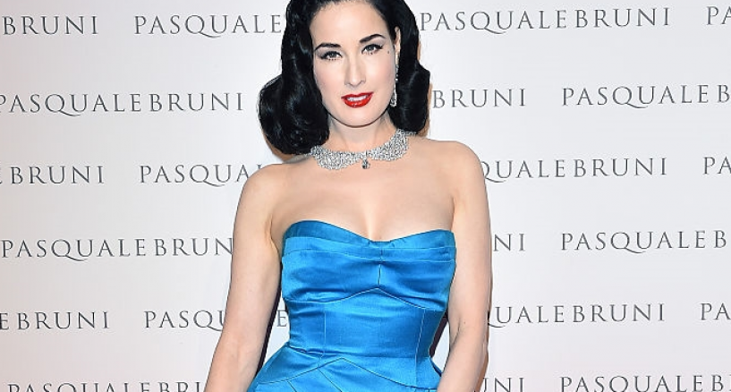 Dita Von Teese, Her Style At The Pasquale Bruni's Secret Garden launch