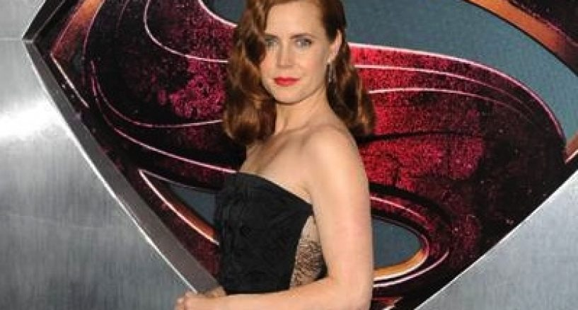 Amy Adams Star Style Look At The Man of Steel Premiere