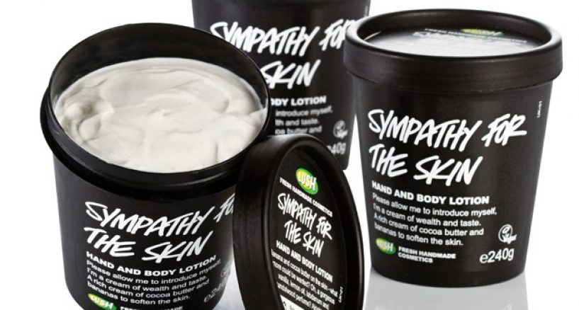 Banana Custard Body Lotion Must Have from LUSH