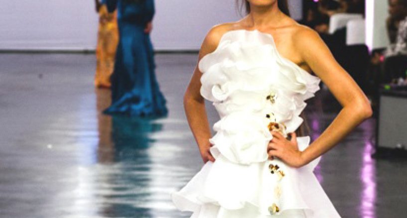 THAI NGUYEN (Tie-Win) Closes The Driven By Design L.A. Runway Show with 900 in attendance