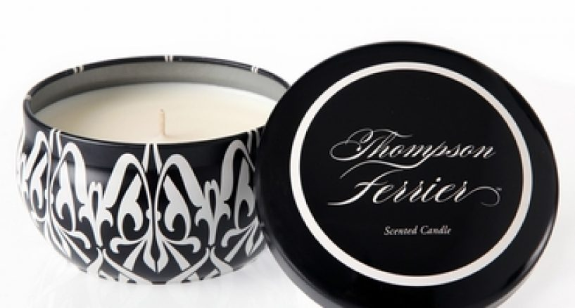 Candle Spotlight on Thompson Ferrier Fresh Pine & Eucalyptus