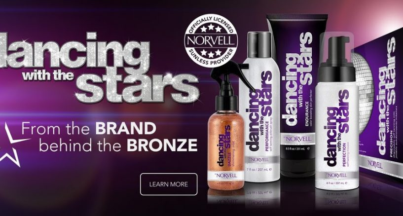 Dancing with the Stars Sunless Collection by Norvell Must Have of The Day