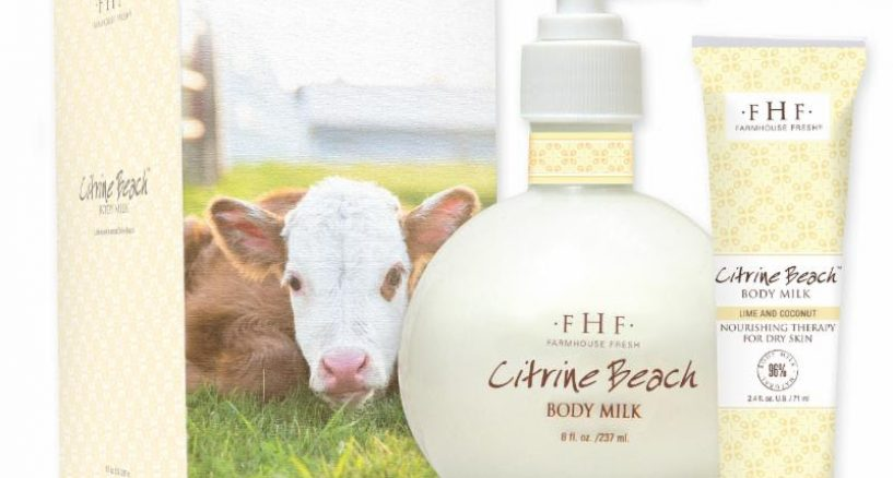 FarmHouse Fresh Debuts Citrine Beach Body Milk Lotion