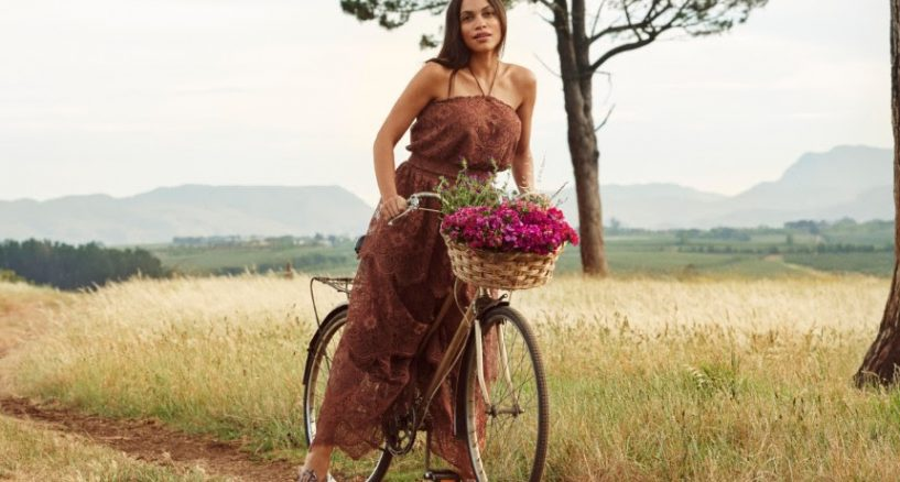 H&M Conscious Collection, Rosario Dawson, Yes to sustainable fabrics..